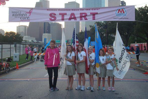En Houston se llevó a cabo la carrera anual contra el cáncer Susan G. Ko...