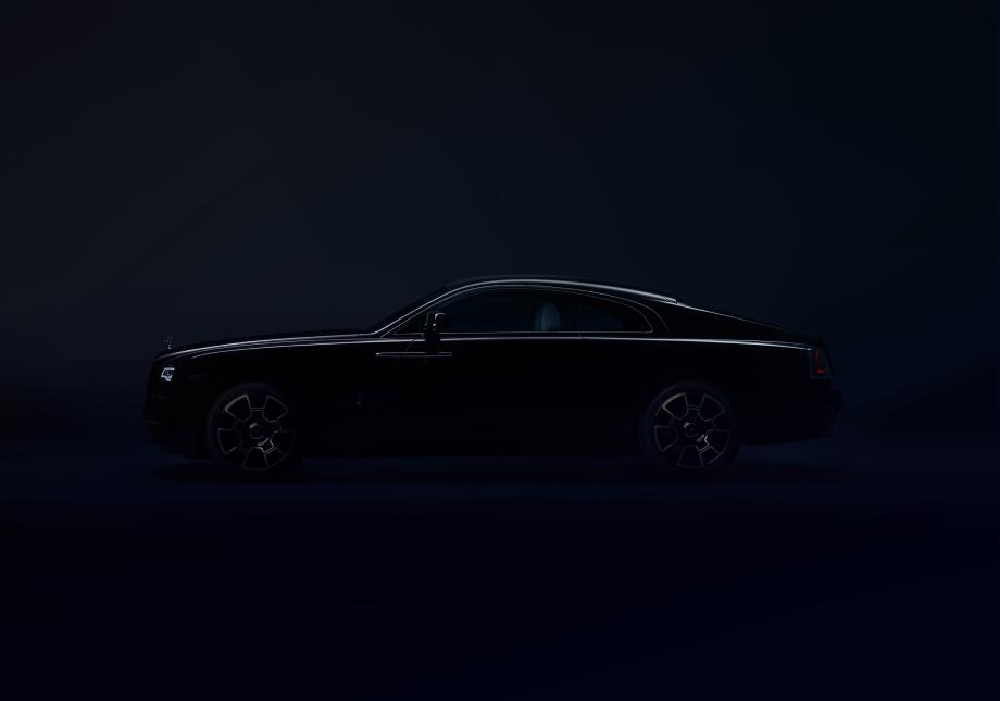Rolls-Royce Wraith Black Badge 2017