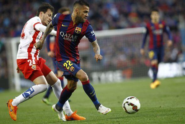 Los blaugranas regresaron al Camp Nou con su paso arrollador donde recib...