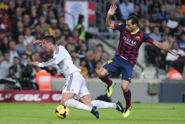 Después vino la polémica del partido. Cristiano Ronaldo cayó dentro del...