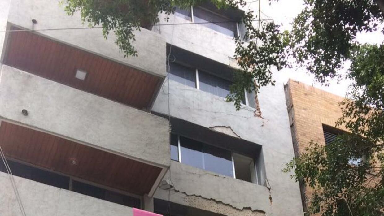 Edificio ubicado en la calle Dinamarca, colonia Juárez, delegación Cuauh...