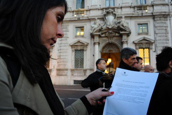 La prensa recibió información filtrada en la que se dice q...