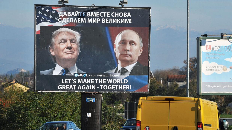 La propaganda de ambos países ha usado la polémica relación de ambos man...