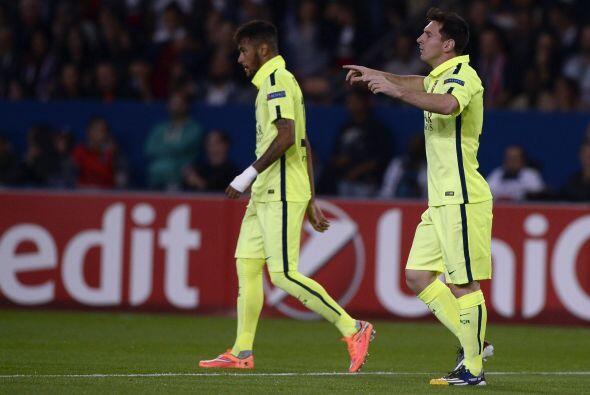 Pero un minuto más tarde Neymar acercó al Barcelona.