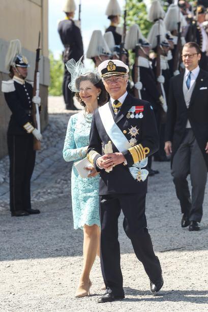 Leonor es la segunda nieta de los reyes Carlos XVI Gustavo y Silvia.