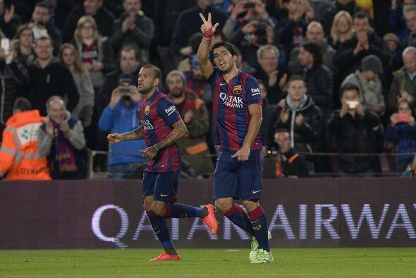 La superioridad de los culés se reflejó pronto en el marcador; Messi arr...