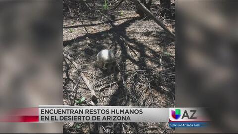 Activistas encuentran restos humanos en el desierto de Arizona