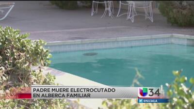 Muere electrocutado al salvar a su hija de una piscina