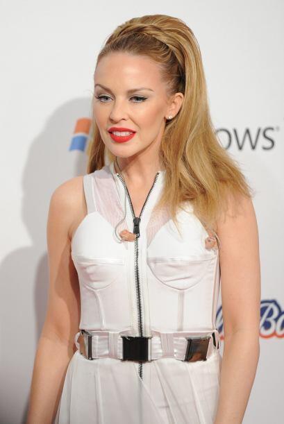 Kylie Minogue, otra de las famosas que constantemente se atormentó con s...