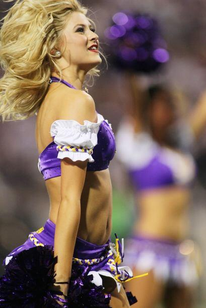 No hay mejor celebración que la que hicieron las bellezas de los Vikings...