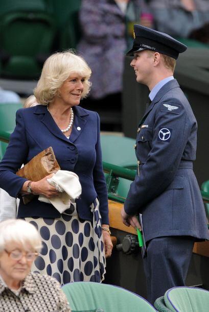 Para el partido de Venus Williams estuvo presente la realeza inglesa.
