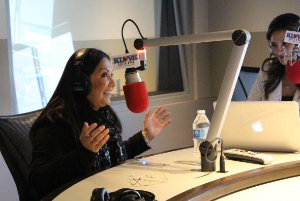 Ana Gabriel tuvo una hermosa charla con Omar y Argelia…