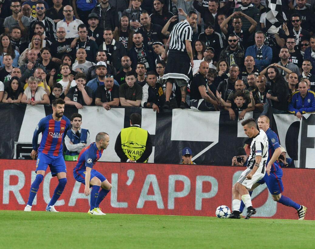 Juventus hizo fiesta contra Barcelona en la Champions League 63627544286...