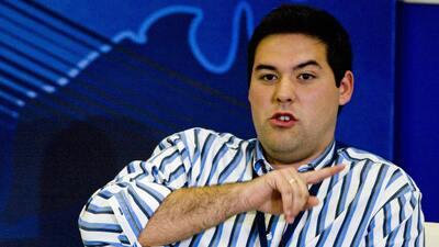 El político y exlíder estudiantil venezolano Yon Goicoechea en una foto...