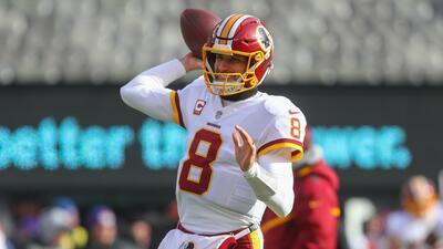 Cousins pasó los primeros seis años de su carrera con los Redskins.