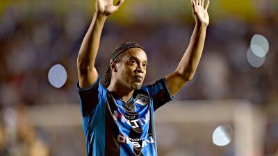 El astro de Porto Alegre dejó al Querétaro para volver a jugar en Brasil.