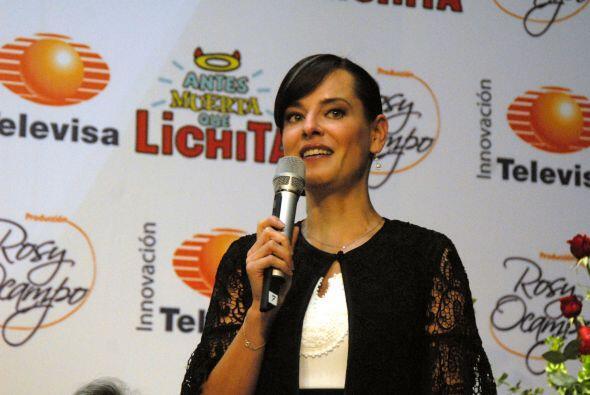 Gaby Platas está entusiasmada por trabajar de la mano del director Benja...