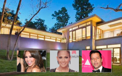 Jennifer López, Thalia y Jennifer López viven en mansiones...