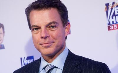 El presentador de noticias de Fox New Shep Smith.