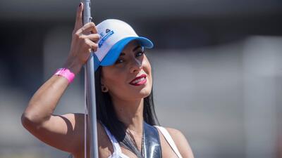 En fotos: La belleza también se hizo presente en los partidos dominicales del Clausura 2018