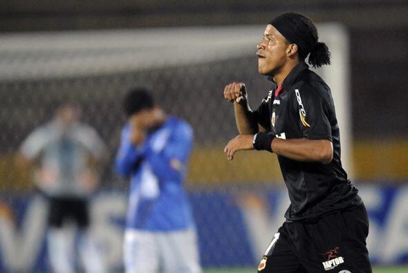 Michael Arroyo, ex Emelec, fue al autor del único gol del partido. Depor...