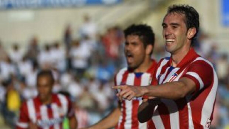 Diego Costa y Godín le dieron un nuevo triunfo a los 'Colchoneros', que...