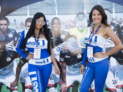 Fútbol y mujeres guapas es una gran combinación que la Lig...