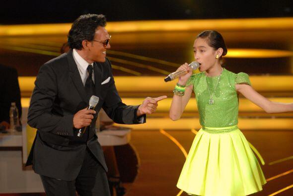Luis Miguel, imitado por Roy Ramos, y Bridget hicieron un magnífico dueto.