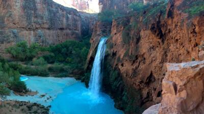 Cascadas de Havasupai: Entre los paseos más escénicos de USA 22469528447...