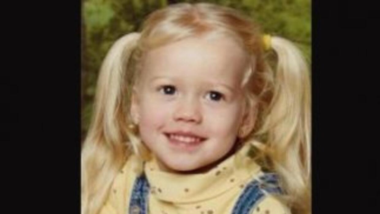 La pequeña Sabrina Allen cuando tenía cuatro años. Fotografía del Nation...