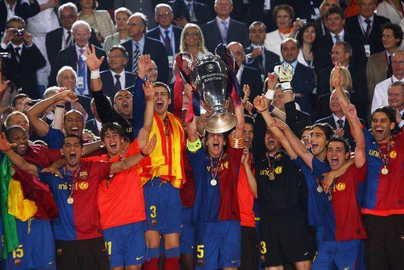 Barcelona volvió a levantar la 'Orejona' en 2009, esta vez dirigidos por...