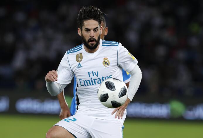 6. Isco Alarcón (Real Madrid / España) - 36 puntos