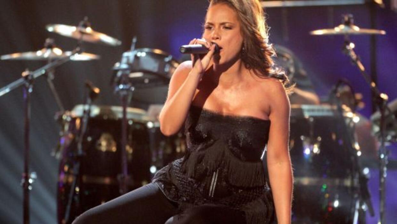 A ritmo del nuevo sencillo de Alicia Keys, el Empire State se encendió p...