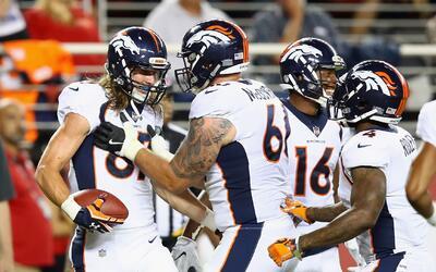 Comandados por Trevor Siemian, los Broncos mostraron buenas cosas a la o...