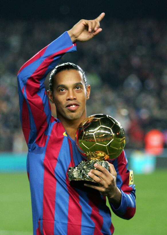Futbolistas latinoamericanos ganadores en la historia del Balón de Oro R...