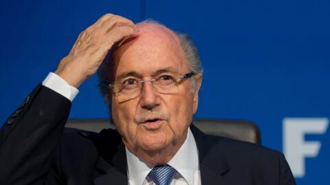El presidente dimisionario de la FIFA, Joseph Blatter.