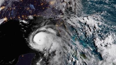 Minuto a minuto: El huracán Michael sube a categoría 2 y avanza con vientos de 100 millas por hora hacia Florida