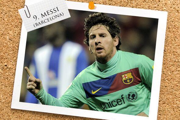 Ya en el ataque, Lionel Messi sumó dos goles más a su exte...