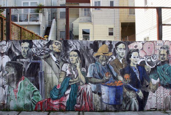 'Íconos del Arte Mexicano' fue pintado por Héctor Escarraman en 1995. En...