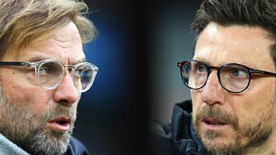 Liverpool vs. Roma: declaraciones de Klopp y Di Francesco previo a la semifinal de Champions
