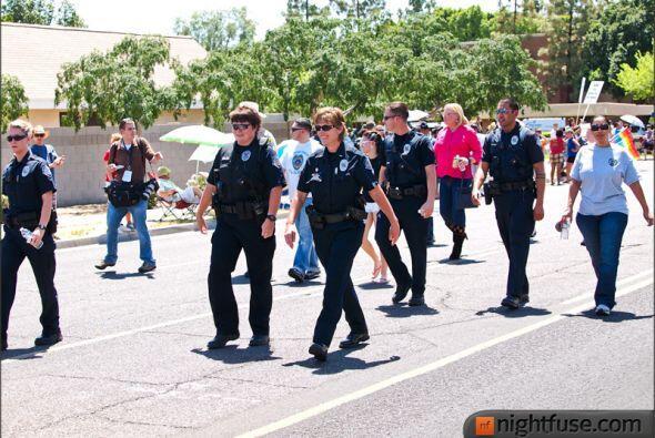 El Desfile del Orgullo Gay 2012 en Phoenix contó con la participa...
