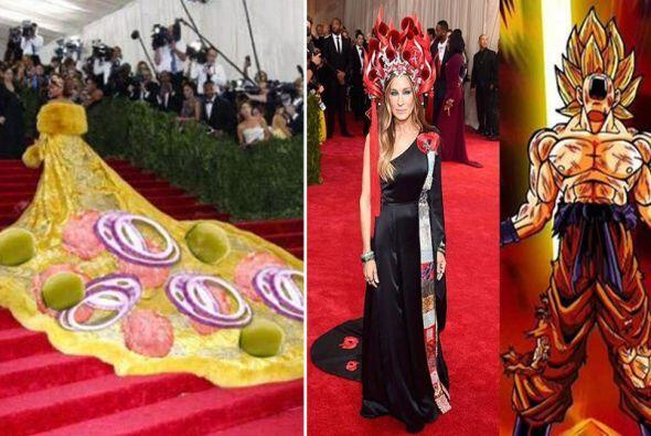 Rihanna y Sarah Jessica Parker protagonizan los memes más graciosos de l...