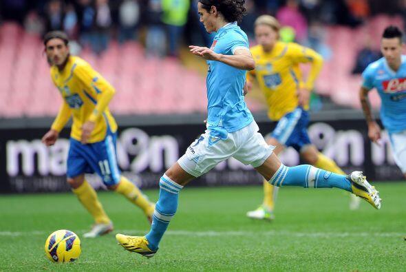 El delantero del Nápoli no para de hacer suya la Serie A italiana...