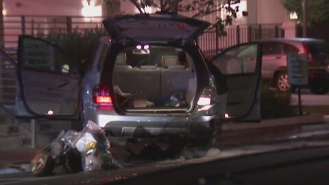 Dos conductores ocasionan un fuerte accidente en Miami Beach por aparent...