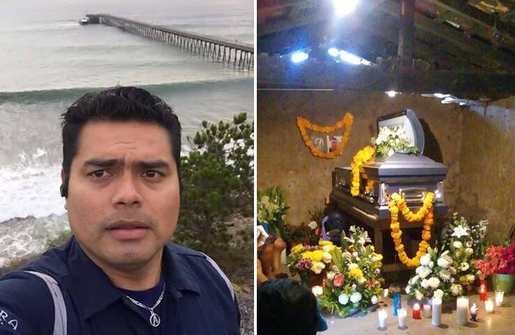 Crescencio Ramos se ahogó el 30 de marzo en una playa de Santa Bárbara,...