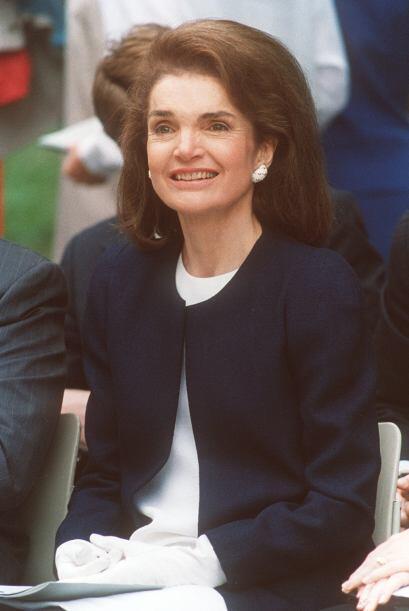A casi 20 años de su muerte, Jackie Kennedy sigue siendo insnpiración pa...