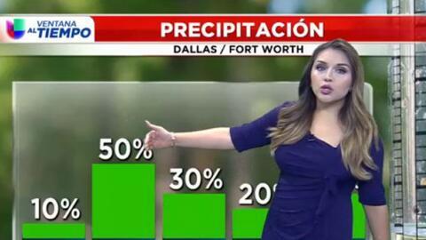 'Dallas en un Minuto': calor y posibles lluvias, el panorama de este martes