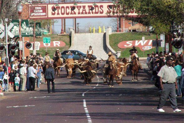 Si quieres realmente conocer el viejo oeste, tienes que visitar Stockyar...