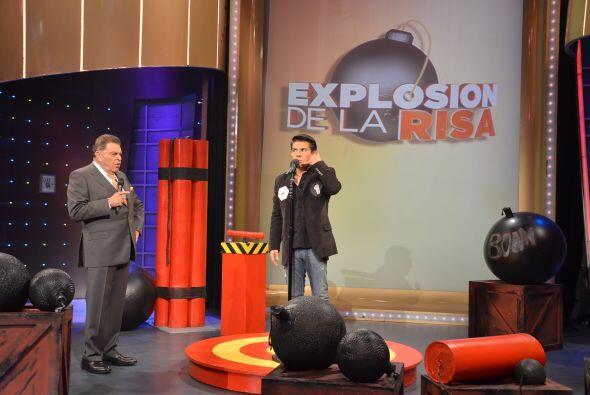 El primer participante de 'La Explosión de la risa', es un carismático m...