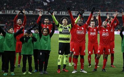 El ortero mexicano agradece a sus fanáticos en Bélgica.